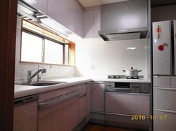 横浜市港北区でキッチン交換工事