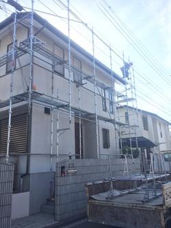 青葉区N様邸で濡れ縁交換及びフェンス取付工事