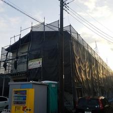 都筑区南山田で工場塗装