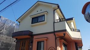 調布市染地Y様邸 ダイヤモンドコート外壁・屋根塗装完了しました