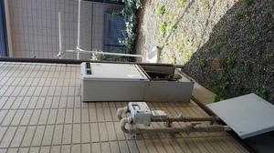 東京都町田市金井で給湯器交換工事