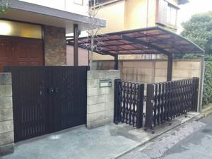 東京都杉並区で外構工事施工しました。