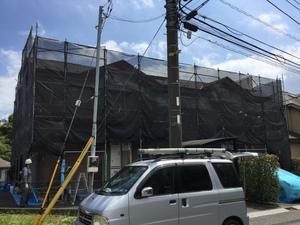 横浜市都筑区加賀原でアパート塗装