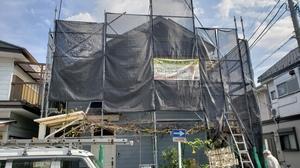 横浜市港北区で外壁塗装工事