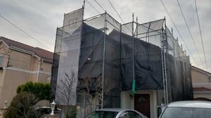 調布市染地で日本ペイントダイヤモンドコート塗装