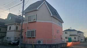 東京都調布市染地1丁目 K様邸外壁・屋根塗装完了
