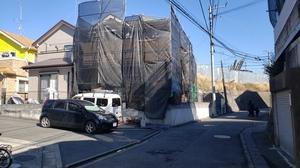 横浜市瀬谷区橋戸 S様邸で外壁・屋根塗装工事