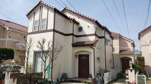 東京都調布市染地O様邸 日本ペイントダイヤモンドコート完了しました。