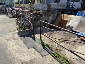 川崎市高津区野川 ㈱多摩川機工様 フェンス取付工事