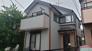 狛江市 I様邸外壁屋根塗装工事完了