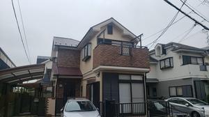 狛江市 F様邸 日本ペイントダイヤモンドコート完了です