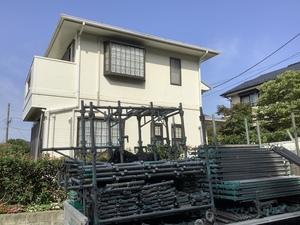 横浜市青葉区市ヶ尾町で日本ペイントダイヤモンド塗装工事始まります