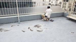 新宿区O様ビル 屋上手摺及びその他鉄部塗装工事