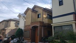 調布市布田 日本ペイントダイヤモンドコート外壁屋根塗装