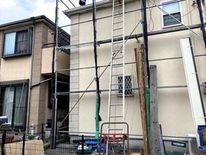 横浜市緑区新治町 T様邸 日本ペイントダイヤモンドコート 屋根上葺き工事