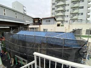 東京都品川区アパート屋根交換工事