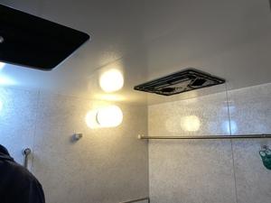 新宿区北新宿マンションで バス乾燥交換工事