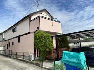 横浜市青葉区で施工していた日本ペイントダイヤモンド完了です。