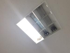 新宿 Oビル店舗で照明交換