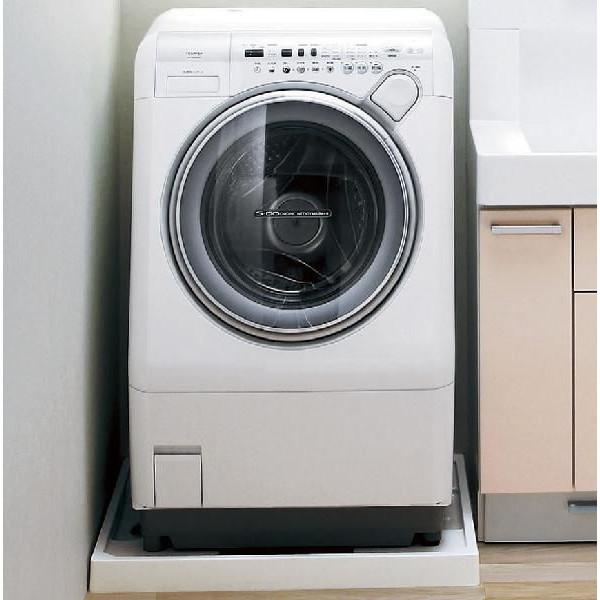 ドラム式洗濯機にピッタリ収まります。