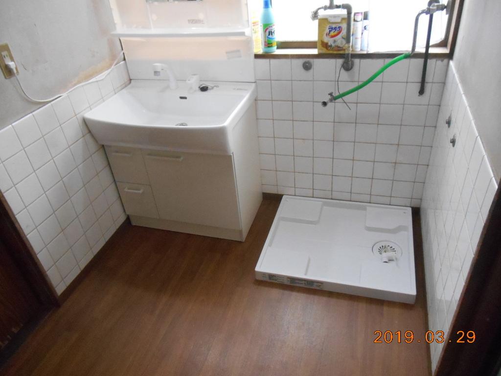 横浜市青葉区 M様邸洗面室改修工事