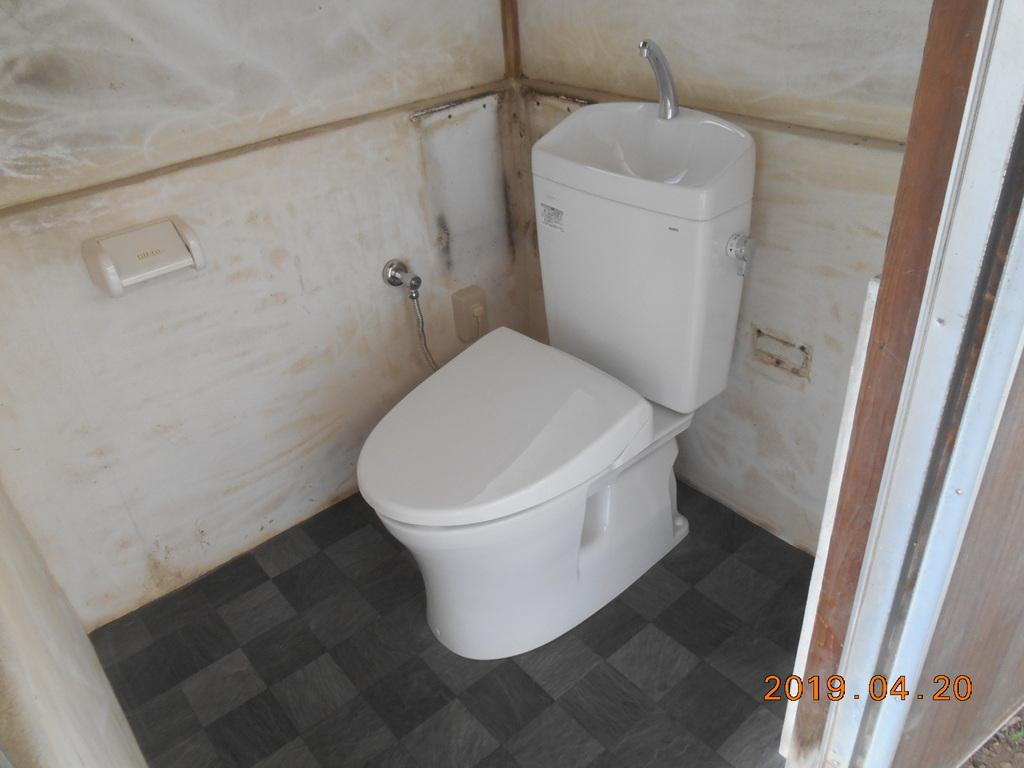 青葉区市が尾M様邸 外部トイレ改修工事