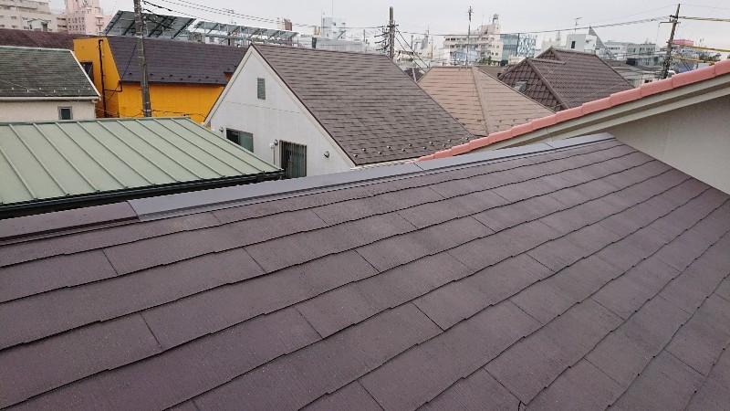 東京都目黒区 アパート棟押えトタン補修工事