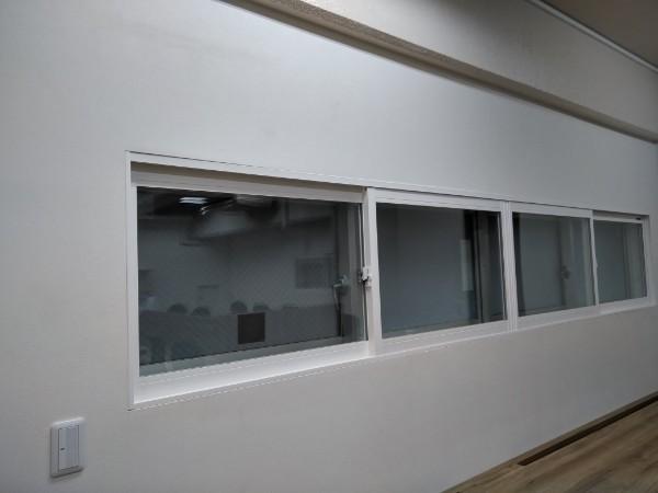 その他の窓にもYKKAP プラマードU取付ました