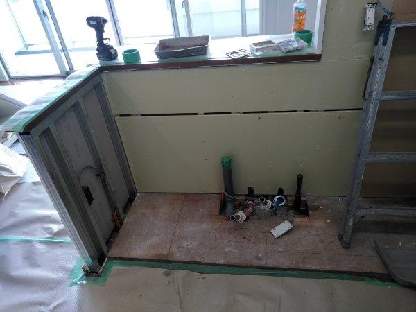 キッチン解体