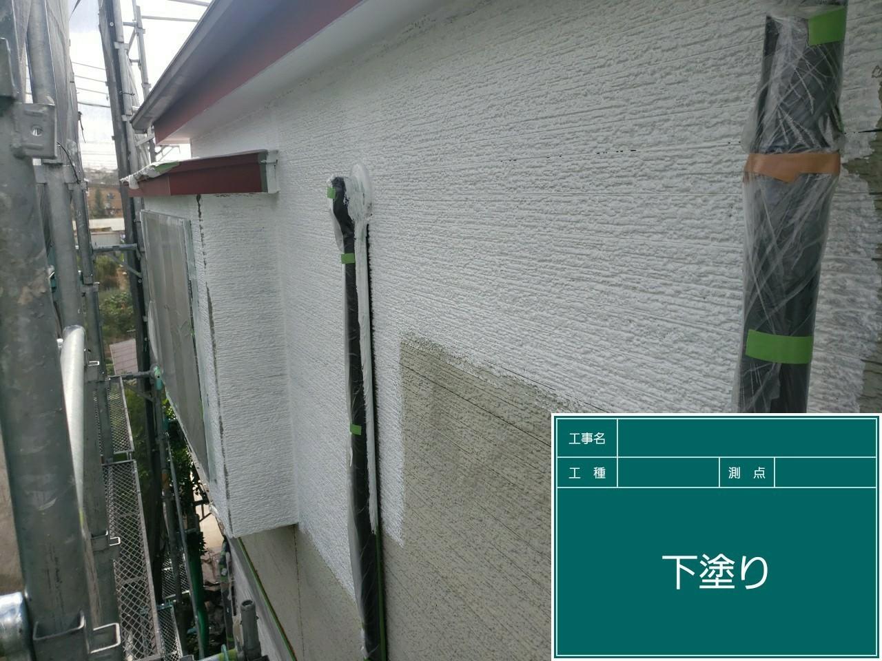 下塗は日本ペイントパーフェクトサーフ